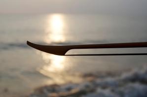 strijkstok aan zee
