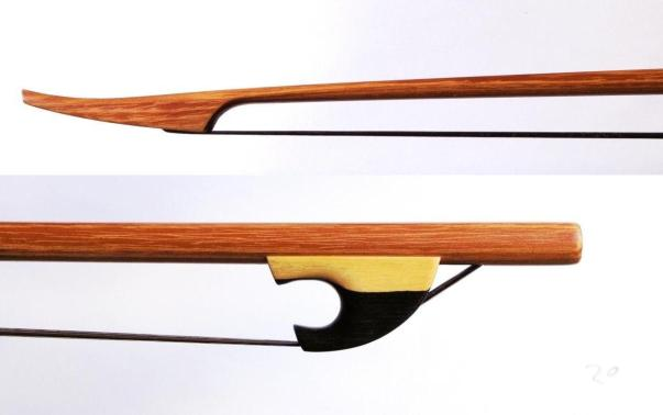 Viola da gamba bow