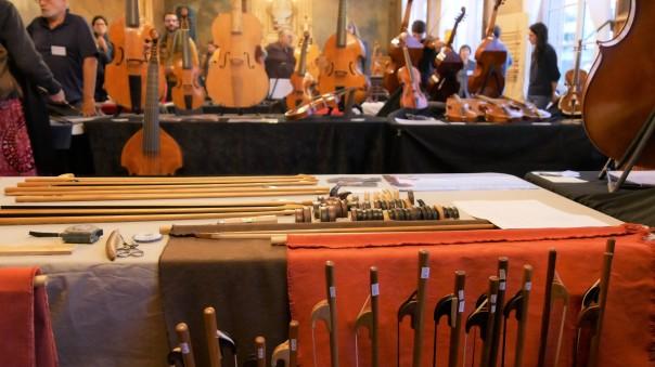 Salon des luthiers à Vanves