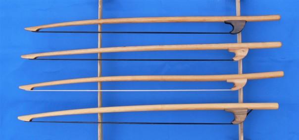 Acacia Renaissance Double Bass Bows (2)