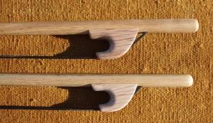 Archets de contrebasse en Robinier (2)