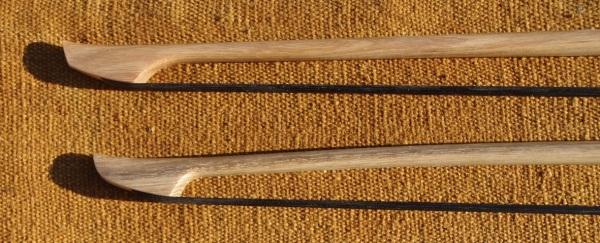 Archets de contrebasse en Robinier (4)