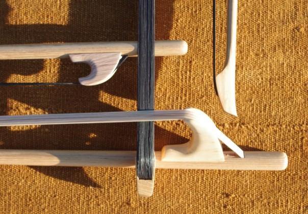 Archets de contrebasse en Robinier (5)